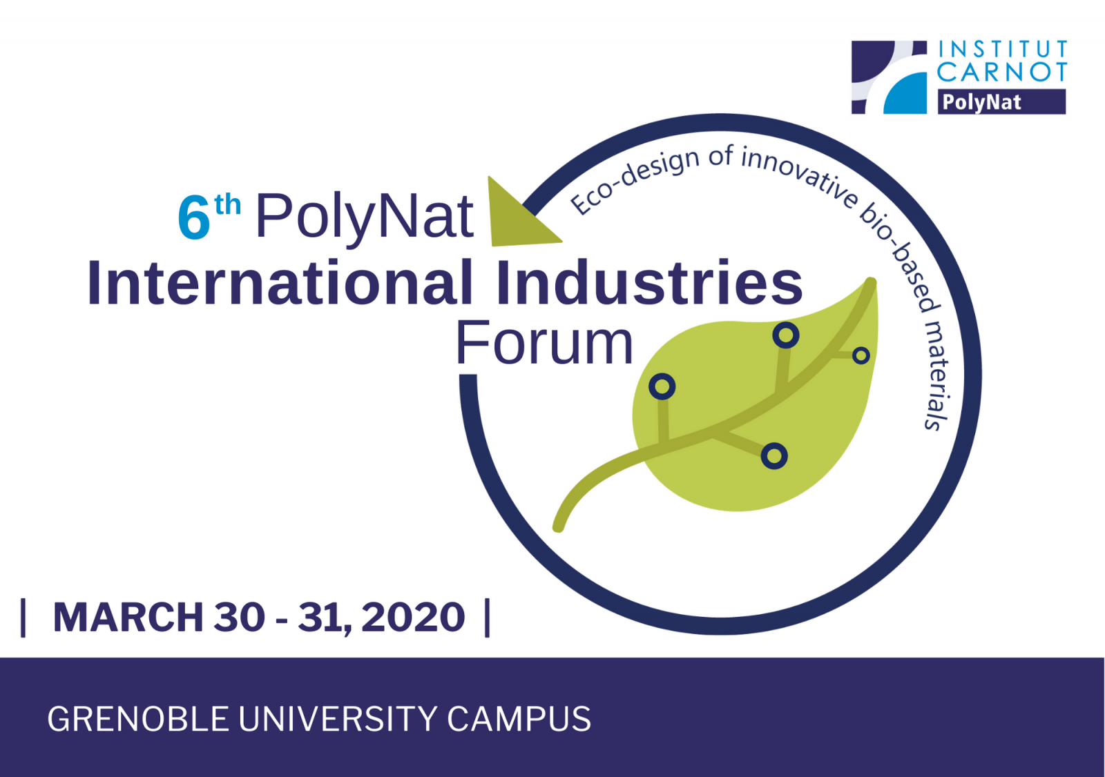 Forum International Industries matériaux biosourcés